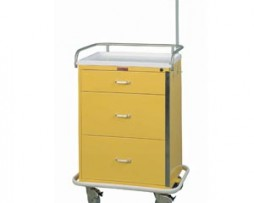 Harloff 6501 Classic Line Three Drawer Infection Control Cart