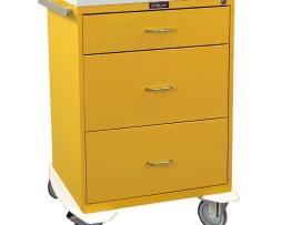 Harloff 6510 Infection Control Cart Classic Line Three Drawer