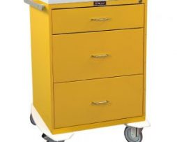 Harloff 6510 Classic Line Three Drawer Infection Control Cart