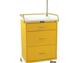Harloff 6511 Classic Line Three Drawer Infection Control Cart
