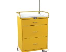 Harloff 6511 Infection Control Cart Classic Line Three Drawer
