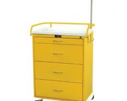 Harloff 6521 Classic Line Four Drawer Infection Control Cart