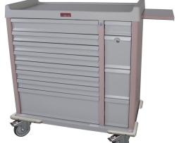 Harloff AL294BOX Medication Cart Aluminum 294 Unit Dose