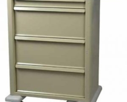 Harloff AL810K4PC Aluminum Universal Line Punch Card Cart
