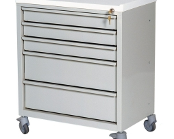 Harloff ETC-5 Five Drawer Economy Treatment Cart