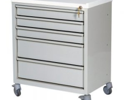 Harloff ETC-5 Economy 5 Drawer Treatment Cart