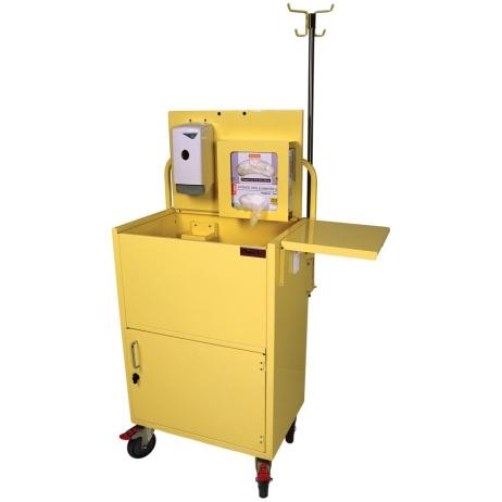 Harloff ISO6548 Isolation Cart Compact Open Well Design