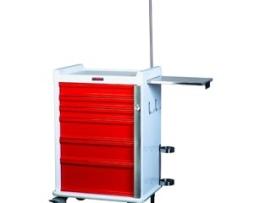 Harloff MR6B-EMG MR-Conditional Six Drawer Emergency Cart