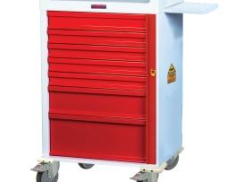 Harloff MR7B MR-Conditional Emergency Cart