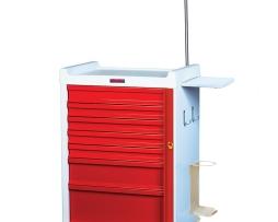 Harloff MR7B-EMG Emergency Cart MRI-Compatible Seven Drawer