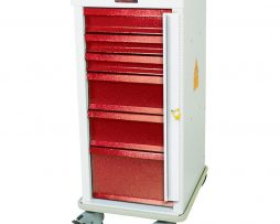 Harloff MRN6B MR-Conditional Six Drawer Emergency Cart