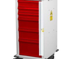 Harloff MRN6B Emergency Cart MR-Conditional Six Drawer
