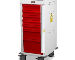 Harloff MRN7B Emergency Cart MR-Conditional Seven Drawer