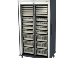 Harloff MS8140-A Double Column Medical Storage Cart