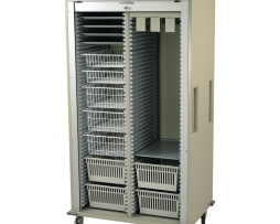Harloff MS8140-CYSTO Double Column Urology Medical Storage Cart