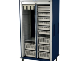 Harloff MS8140-VASC Vascular Medical Storage Cart