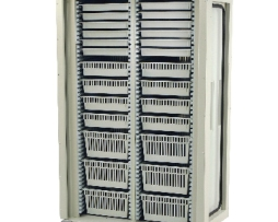 Harloff MS8140DR-A Double Column Medical Storage Cart
