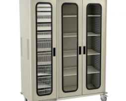 Harloff MS8160 Triple Column Medical Storage Cart