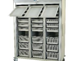 Harloff MS8160-ARTHRO Arthroscopy Triple Column Medical Storage Cart