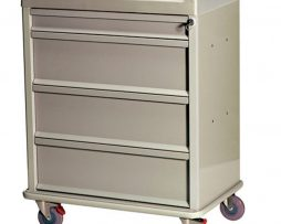 Harloff SL270MOT Standard Line Medicine on Time Medication Cart