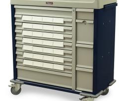 Harloff SL28BIN5 Medication Cart Standard Line Med-Bin