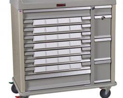 Harloff SL28BIN5 Standard Line Med-Bin Medication Cart