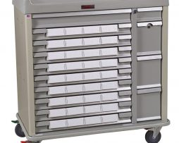 Harloff SL36BIN5 Standard Line 36 Med-Bin Medication Cart