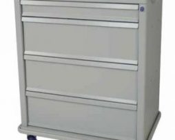 Harloff SL550PC Standard Line 550 Punch Card Medication Cart