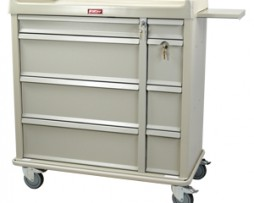 Harloff SL600PC Standard Line Punch Card Medication Cart