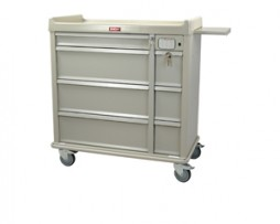 Harloff SL600PC-EKC Punch Card Medication Cart Electronic Lock