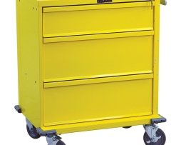 Harloff V24-3K V-Series Three Drawer Procedure Cart