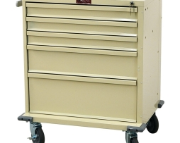 Harloff V24-5K V-Series Five Drawer Treatment Procedure Cart