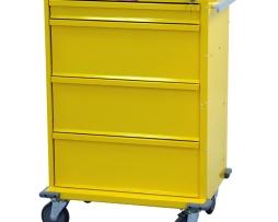 Harloff V30-4K V-Series 4 Drawer Isolation Cart