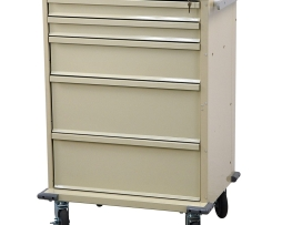 Harloff V30-5K V-Series Five Drawer Procedure Treatment Cart
