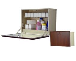 Harloff WL2715-DC Wooden Laminate Medication Cabinet