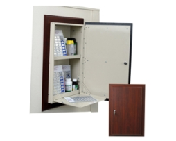 Harloff WL2780MRTRM-DC Wood Look Wall Medication Cabinet