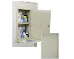 Harloff WL2781 Single Door Wall Medication Cabinet