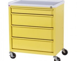 Harloff ETC-4 4 Drawer Economy Treatment Cart