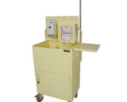 Harloff ISO6548 Isolation Cart Compact Open Well Design