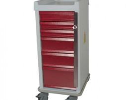 Harloff MRN6B MR-Conditional Six Drawer Emergency Cart