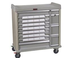 Harloff SL28BIN5SP Standard Line Med-Bin Medication Cart