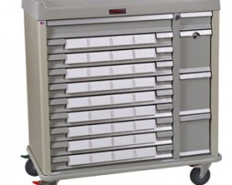 Harloff SL36BIN5 Standard Line 36 Bin Medication Cart