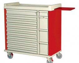 Harloff SL420BOX 420 Capacity Unit Dose Medication Box Cart