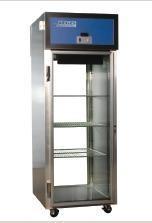 Aegis Scientific 1-RPG-50 50 cf Pass Through Refrigerator Hinged Glass Door