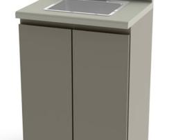 "UMF 6024 Modular 24"" Base Cabinet Sink Faucet"