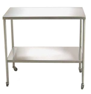 UMF Medical SS8014 Stainless Steel Instrument Table