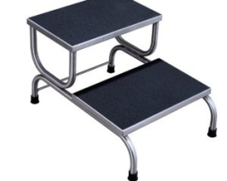 UMF SS8370 Stainless Steel Foot Stool Double Step