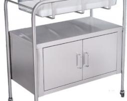 UMF Medical SS8528 Stainless Steel Bassinet 2 Door