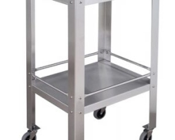 UMF Medical SS8096 Stainless Steel Utility Instrument Table