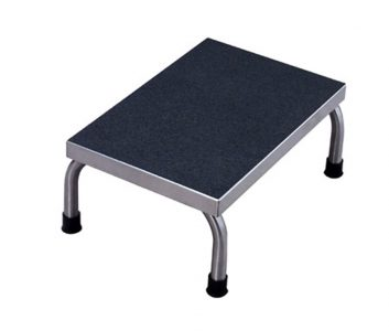 Superb Umf Medical Ss8374 Stainless Steel Foot Stool One Step Caraccident5 Cool Chair Designs And Ideas Caraccident5Info